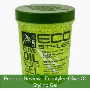 Product Review - Ecostyler Olive Oil styling gel