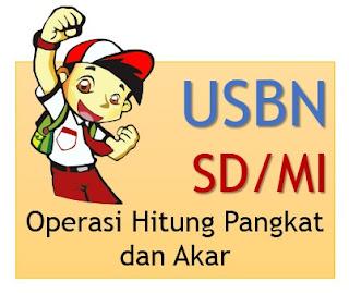 Latihan Soal USBN SD: Operasi Hitung yang Melibatkan Bilangan Berpangkat dan Akar