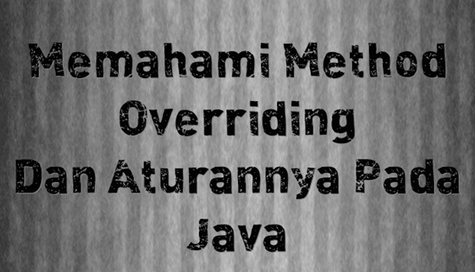 overriding method java