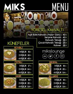 miks bahçe güneykent gaziantep menü fiyat listesi gaziantep restoranları