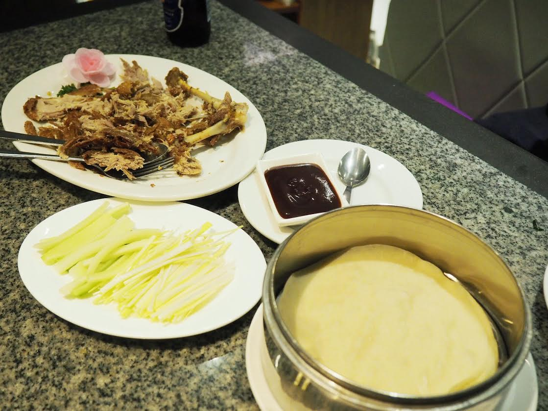 Little Hong Kong duck and pancakes