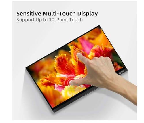 Gmk 4K UHD Touchscreen Portable Monitor