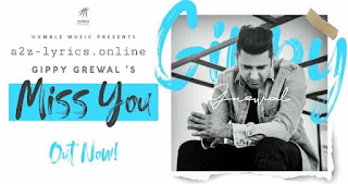 मिस यू Miss You Lyrics in Hindi - Gippy Grewal