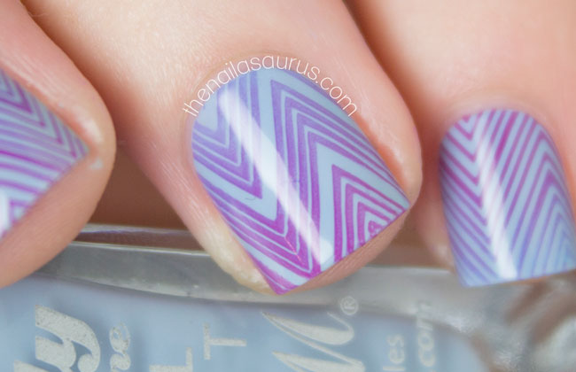 Gradient Stamping With Moyou Fashionista Collection The