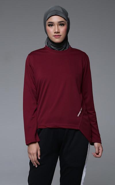 Outfit Bersepeda Hijab