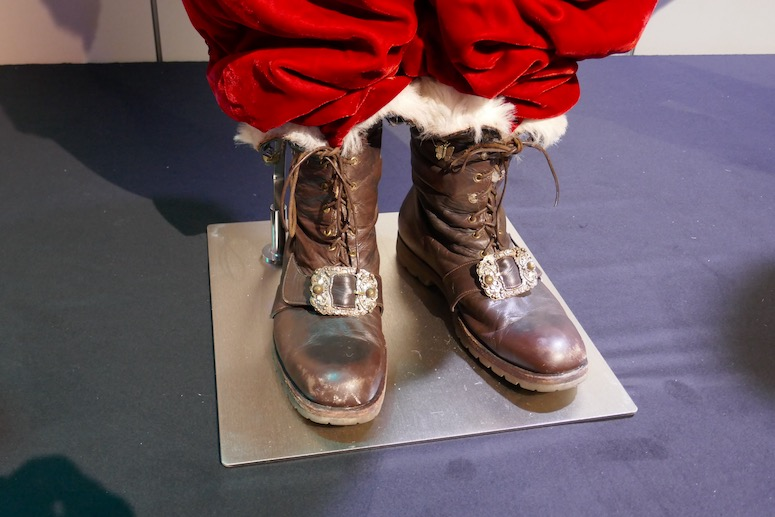 Santa Clause 3 costume boots