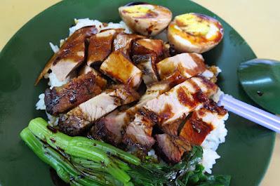 Hong Kong Jin Tian, duck roast pork