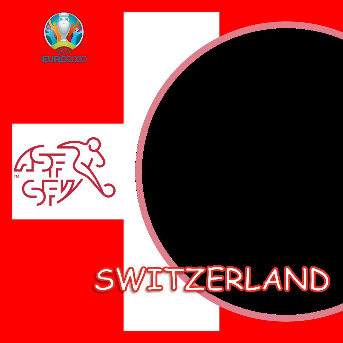 Link Frame Bingkai Foto Twibbon Swiss Euro 2020 - Switzerland Euro 2021