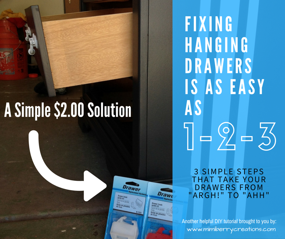Mimiberry Creations How To Fix Hanging And Wiggly Drawers In 3 Steps
