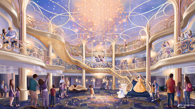 第5艘 迪士尼郵輪  取名為 Disney Wish, The fifth Disney Cruise Line ship