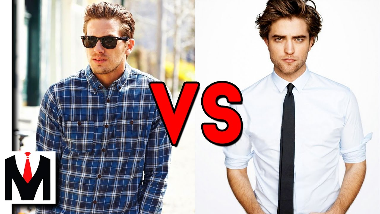 Dress Suits vs Everyday Clothing