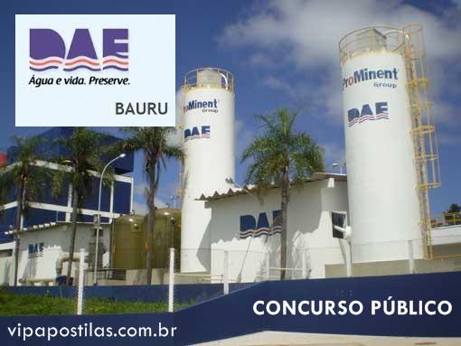 Concurso DAE de Bauru oferece vaga para Encanador