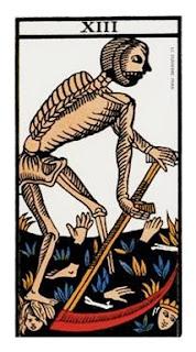 La Muerte- Arcano XIII- Tarot de Marsella