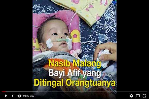 Astaghfirullah, Dalam Kondisi Memprihatinkan Bayi Berumur 1 Bulan ini Ditinggalkan Orangtuanya