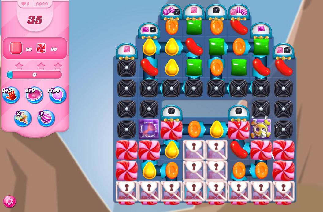 Candy Crush Saga level 9099