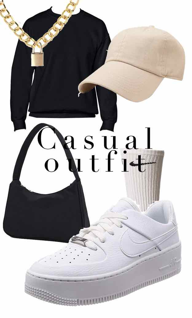 super casual tiktok outfit