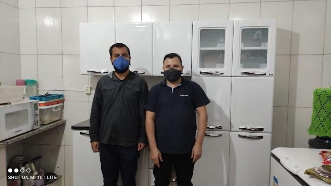 Parceria empresarial doa lavadoras, armários e colchões a Albergue e Centro Pop em Araçatuba