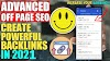 How to CREATE BACKLINKS (Powerful) in 2021 - Learn Advanced OFF-PAGE SEO (Step By Step)
