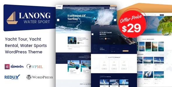 Best Yacht Rental WordPress Theme