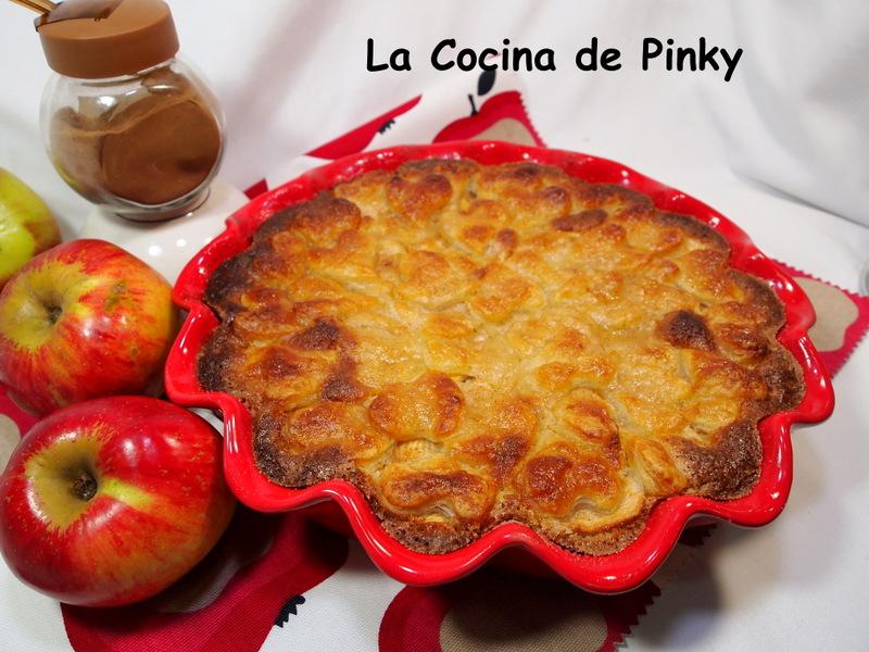 Tarta De Almendra Y Manzana