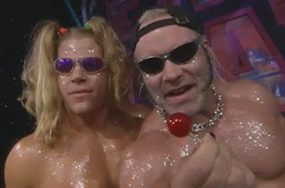 WCW Fall Brawl 1999 - Lenny Lane and Lodi - The West Hollywood Blondes