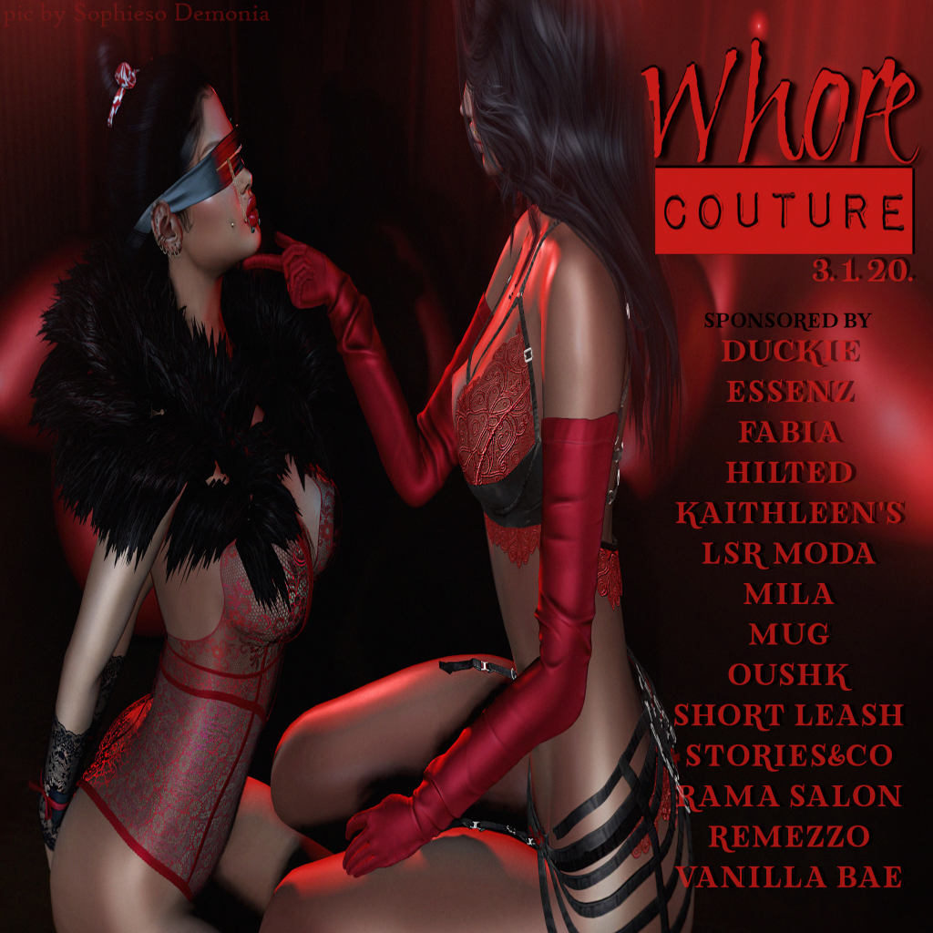 Whore Couture 2020