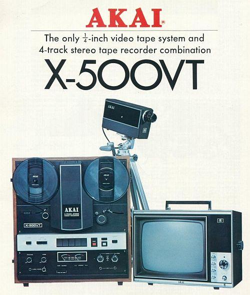 Audio / Video Tape Recorder (1968)