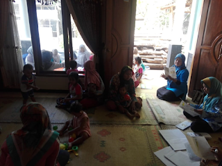 Penuh Keceriaan, Bina Keluarga Balita Kampung KB Gumulan