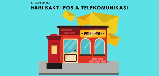 Sejarah Hari Bakti Pos dan Telekomunikasi 27 September