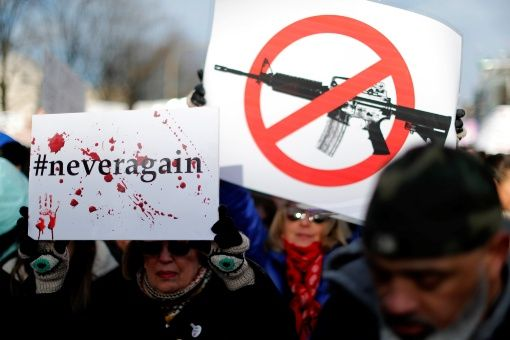 EE.UU.: Multitudinaria marcha para exigir control de armas