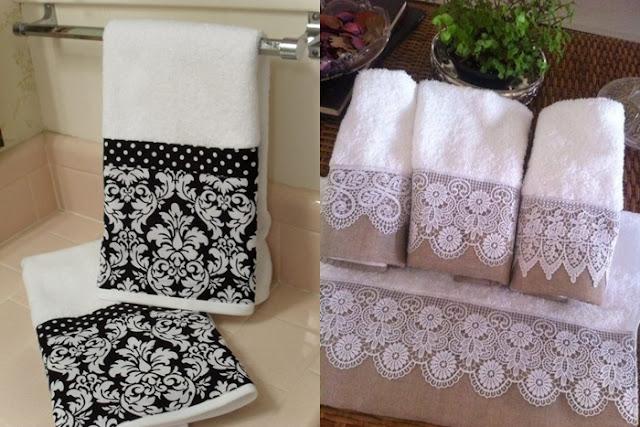 Toalhas para lavabo