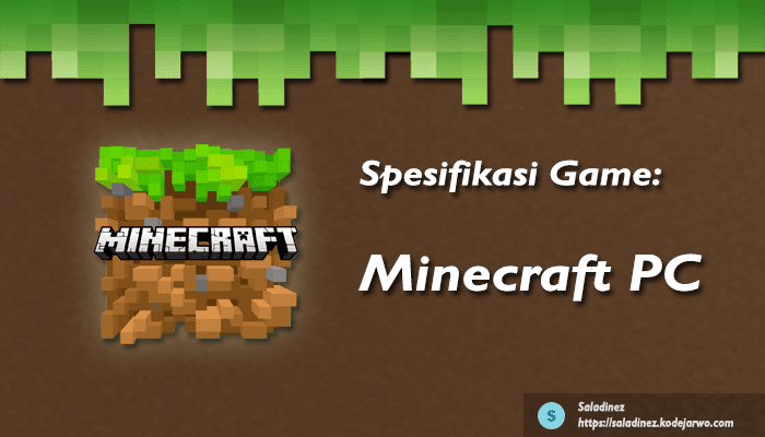 Spesifikasi Game: Minecraft PC