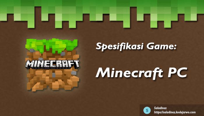 Spesifikasi Game: Minecraft PC