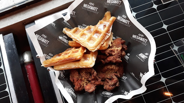 Chicken3 and Waffles (or Fries)  Php 268