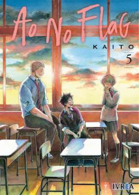 """Manga: Review de """"Ao No Flag"""" Vol. 5 de Kaito - Ivrea"""