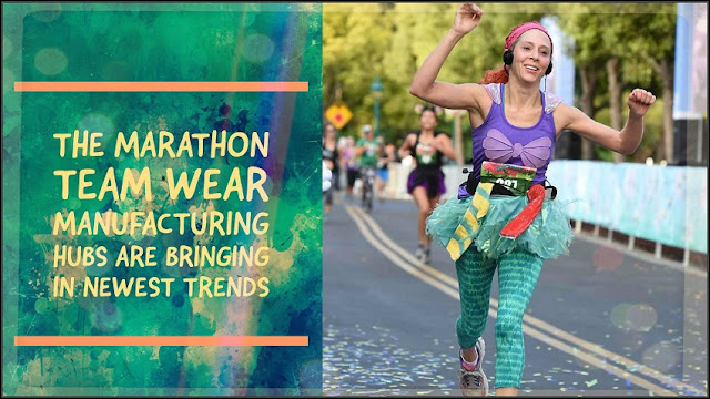 marathons team wear manufacturing hubs