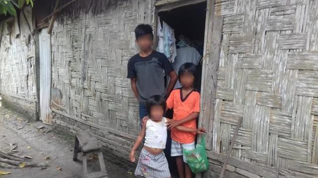 Keempat Anak ini Sering Kelaparan dan Tak Terurus Karena Profesi Ibunya Jadi Kupu-Kupu Malam