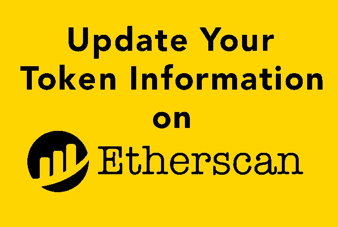 Update your token information and list your token on an exchange for trading