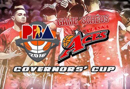 List of Games Schedules: Alaska Aces 2016 PBA Governors' Cup
