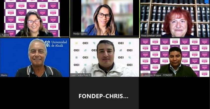 FONDEP y OEI coordinaron acciones para Diplomado: Diseño, gestión y evaluación de proyectos de innovación educativa