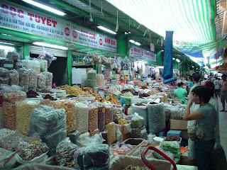 Mercado Ben Thanh. Ho Chi Minh. Vietnam