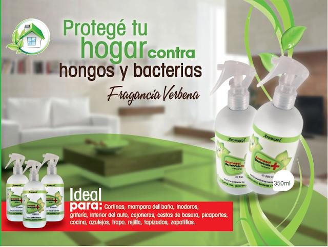 Bactericida textil y ambiental aromasol perfumes por - Como mantener la casa limpia y perfumada ...