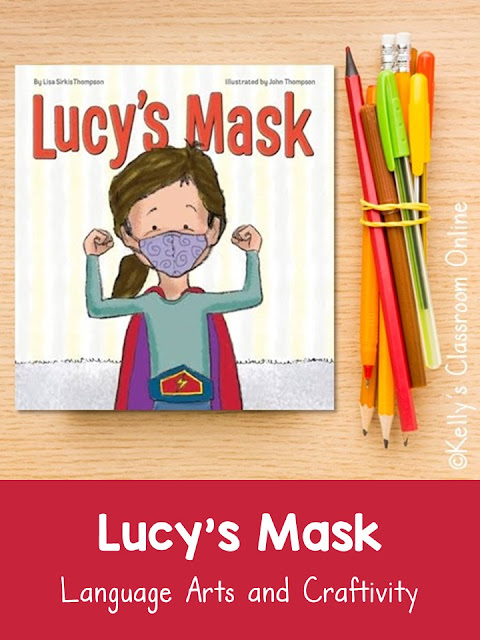 Learn about the importance of wearing your face mask, then make a fun self-portrait after reading Lucy's Mask by Lisa Sirkis Thompson.
