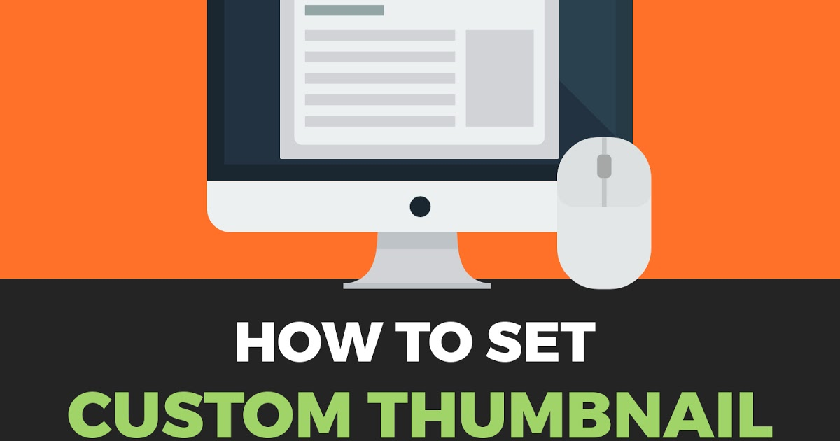 custome thumbnail in blogger