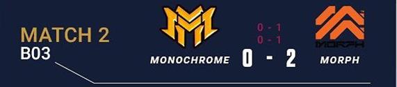 Monochrome (0) - (2) Esports Morph