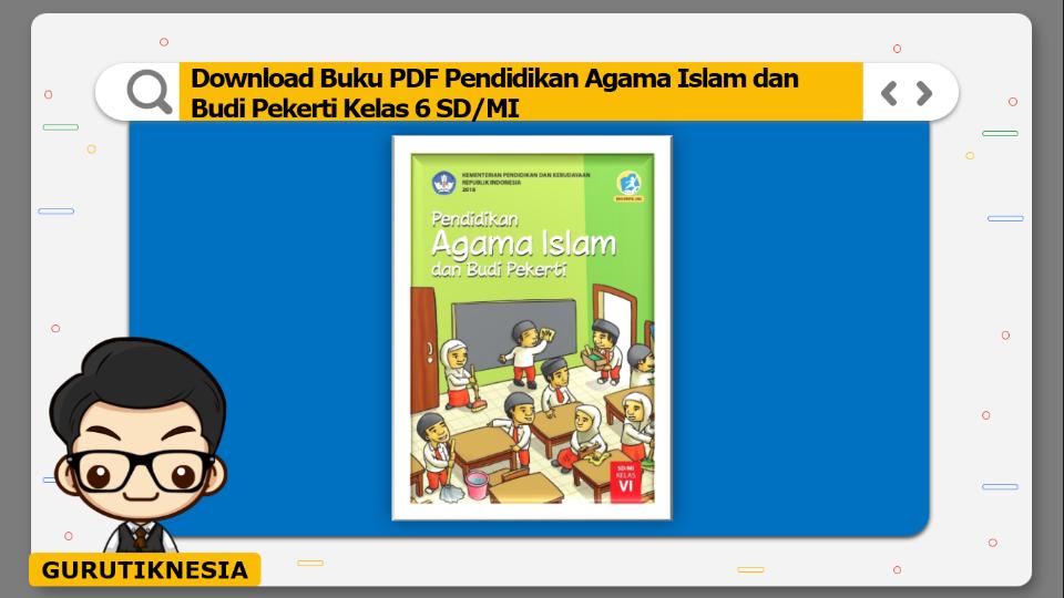 download buku pdf pendidikan agama islam dan budi pekerti kelas 6 sd/mi