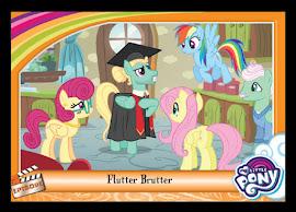 My Little Pony Flutter Brutter Series 5 Trading Card