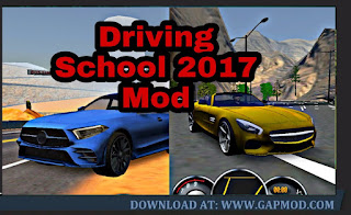 Download Driving School 2017 V3.6 MOD APK Unlimited Money