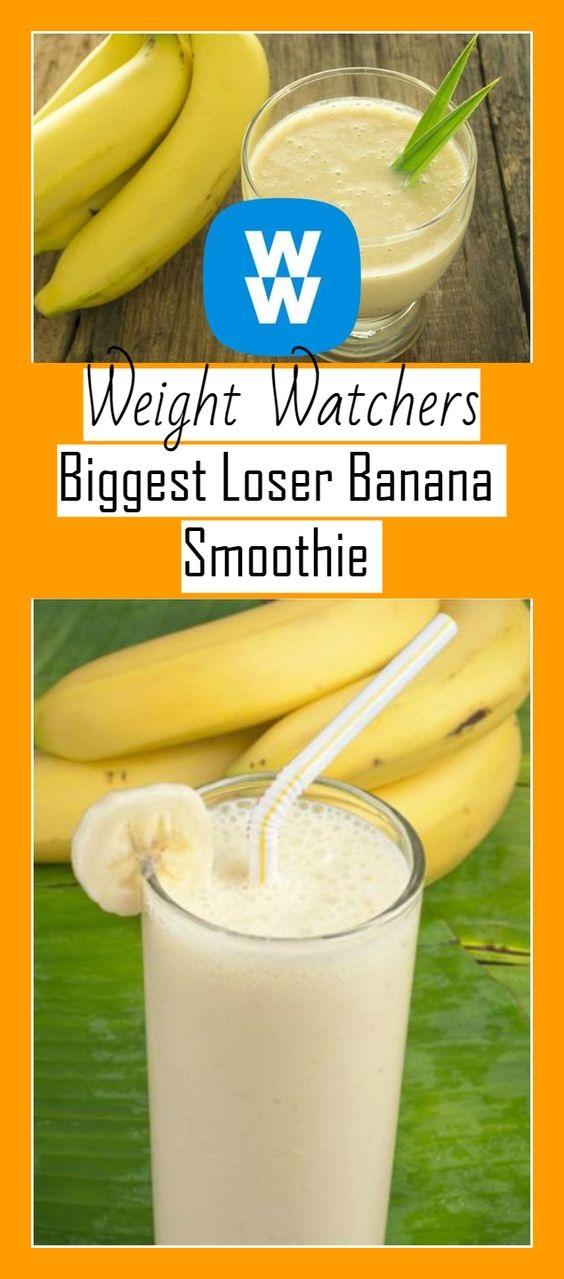 Banana Smoothie Weight Watcher Recipe