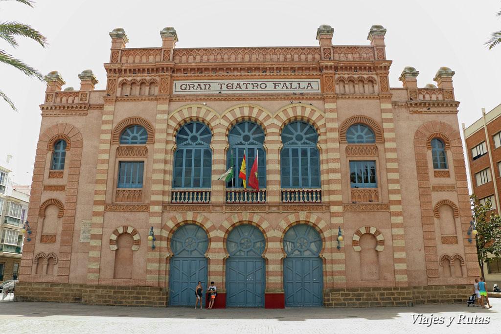 Qué ver en Cádiz, Gran Teatro Falla